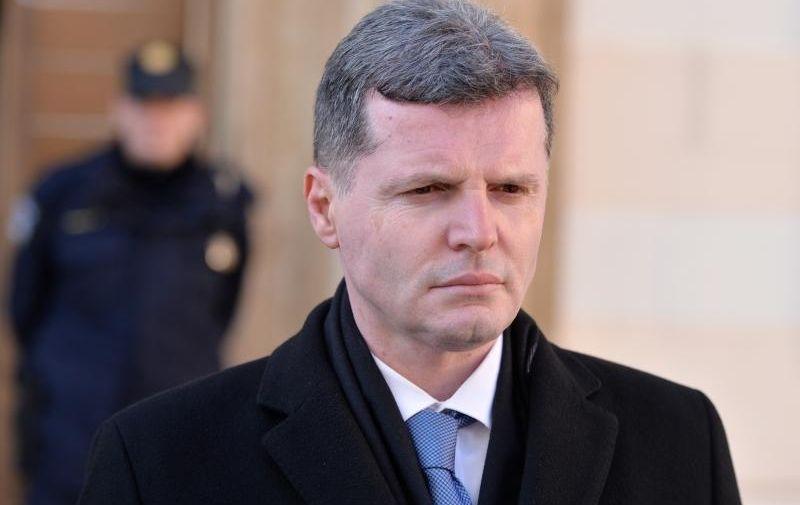 04.02.2016., Zagreb - Odlazak ministara iz Vlade  RH. Dario Nakic. Photo: Marko Lukunic/PIXSELL