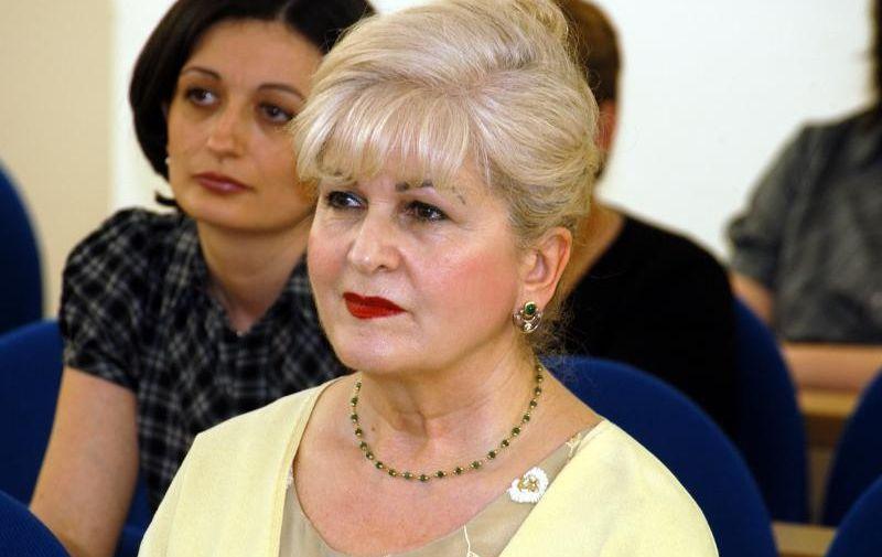 25.05.2010., Bjelovar - U Gradskoj vijecnici odrzan sastanak o mogucnosti zenskog poduzetnistva za lokalni razvoj, Marija Sola, predsjednica Udruge poslovnih zena KrugPhoto: Damir Spehar/PIXSELL