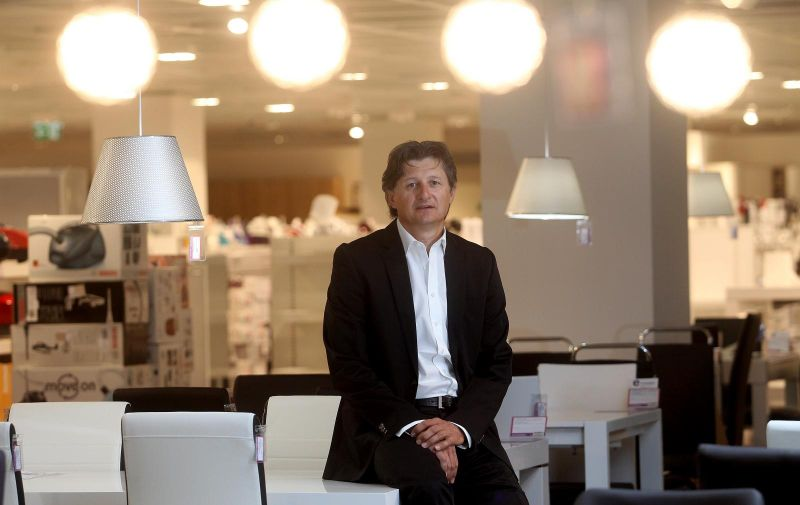 13.08.2014., Zagreb - Slobodan Skolnik, predsjednik Uprave Connforame Italia i Emmezete. Photo: Boris Scitar/Vecernji list/PIXSELL