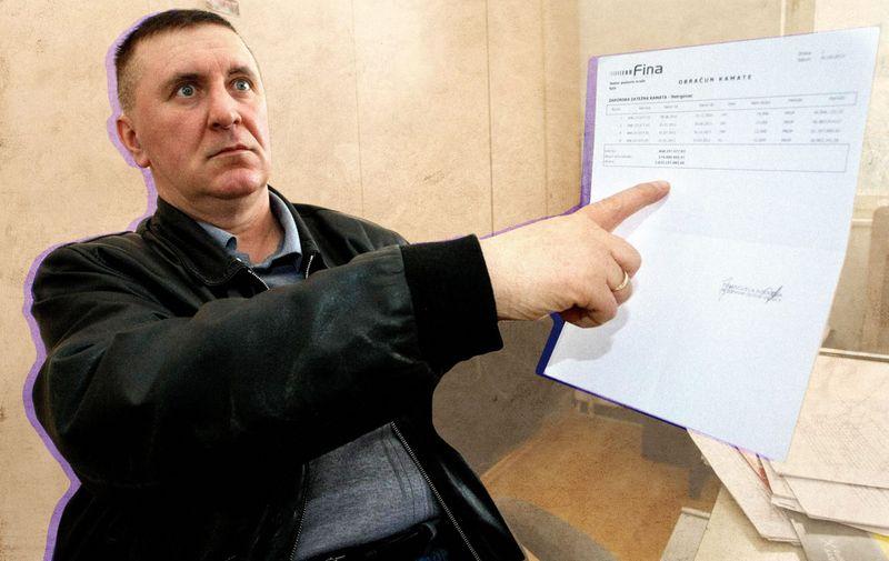 14.03.2012, Osijek - Bivski djelatnik Belja Miroslav Mikus, spori se s bivsom firmom zbog nezakonitog otkaza jos od 1989. godine i iznos koji potrazuje od vecinskog vlasnika Belja narastao je na milijardu kuna.
