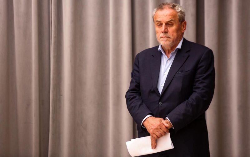 08.06.2020., Zagreb - Konferencija za medije Stozera civilne zastite grada Zagreba. Milan Bandic Photo: Marin Tironi/PIXSELL.