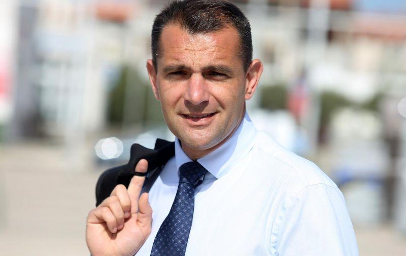 25.04.2019., Pirovac - Nositelj liste HNS-a za Europski parlament Matija Posavec.  Photo: Dusko Jaramaz/PIXSELL