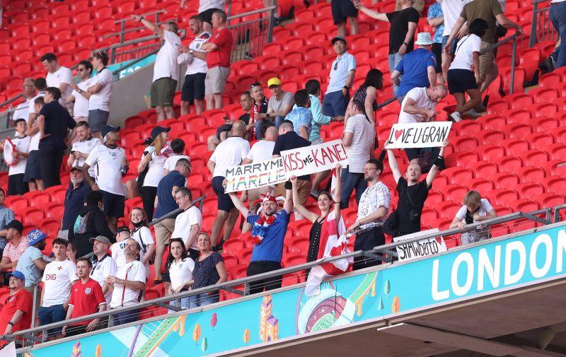 13.06.2021., London, Engleska - Wembley. UEFA Europsko prvenstvo 2020, skupina D, 1. kolo, Engleska - Hrvatska. Photo: Luka Stanzl/PIXSELL