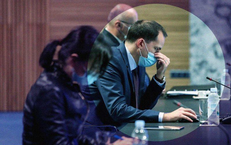 13.11.2020.,  Zagreb - U Nacionalnoj i sveucilisnoj knjiznici odrzana je sjednica Vlade RH. Ivan Malenica, ministar pravosuđa i uprave Photo: Igor Kralj/PIXSELL